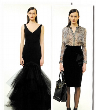 Badgley Mischka Pre-Fall 2012 Koleksiyonu
