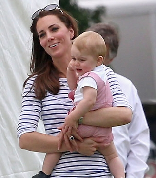 Kate Middleton ve Prens George