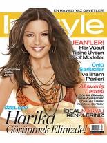 InStyle Ağustos 2007 Catherine Zeta Jones