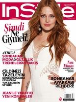 InStyle Ağustos 2013 Naz Elmas