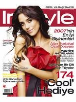 InStyle Aralık 2007 Cansu Dere