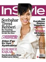 InStyle Eylül 2008 Rihanna