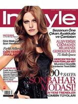 InStyle Eylül 2009 Naz Elmas