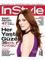 InStyle Haziran 2006 Julianne Moore