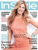InStyle Haziran 2015 Jennifer Aniston