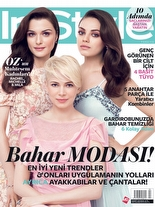 InStyle Mart 2013 Mila Kunis, Rachel Weisz ve Michelle Williams
