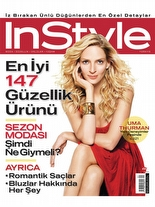 InStyle Mayıs 2006 Uma Thurman