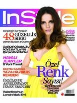 InStyle Mayıs 2009 Tuğçe Kazaz