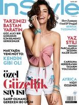 InStyle Mayıs 2017 Berrak Tüzünataç