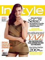 InStyle Temmuz 2010 Saadet Işıl Aksoy