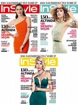 InStyle Temmuz 2014 Melisa Sözen, Tuba Ünsal ve Derin Mermerci