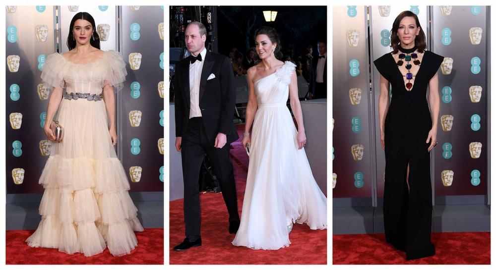 BAFTA Ödül Töreni'nde Şıklık Yarışı