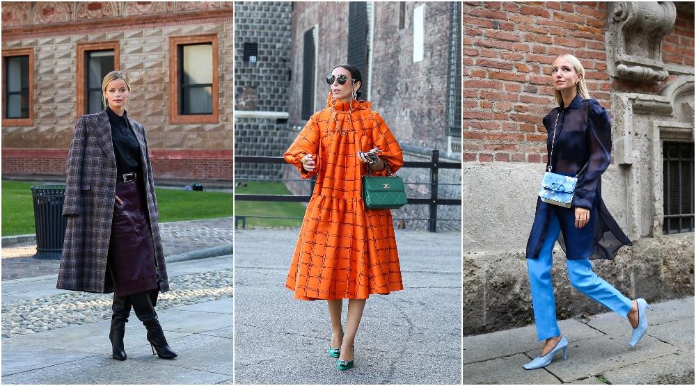 Milano Moda Haftası'ndan Dikkat Çeken Sokak Stili Görünümleri
