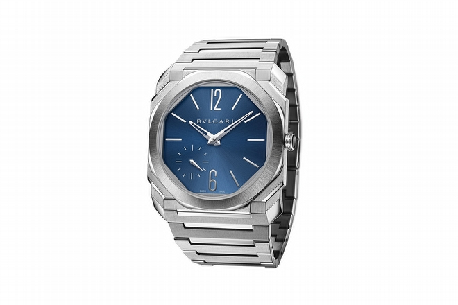 Bulgari 'Octo Finissimo Automatic Satin-Polished Steel'