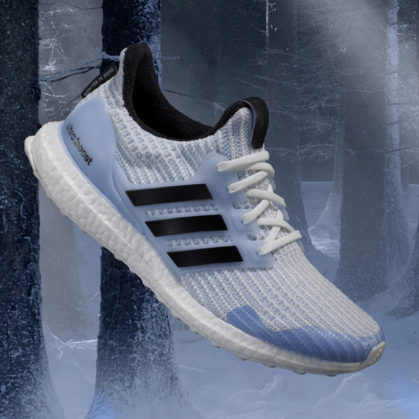 "Game Of Thrones x adidas Ultra Boost ""White Walker"""