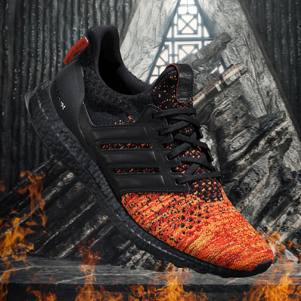 "Game Of Thrones x adidas Ultra Boost ""Targaryen Dragons"""
