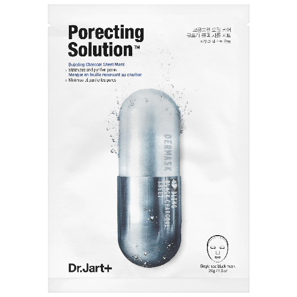 Dr. Jart+ - Dermask Ultra Jet Porecting Solution Bubbling Charcoal Sheet Mask