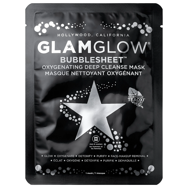 GLAMGLOW - BUBBLESHEET Oxygenating Deep Cleanse Mask