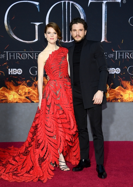 Rose Leslie &  Kit Harington